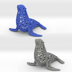 3D lions seals