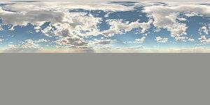16K Sky 360 Degrees