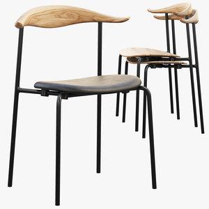 ch88 chair hans wegner 3D