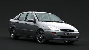 3D focus 1999 sedan