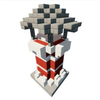 lighthouse minecraft model