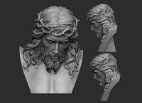 3D jesus bust
