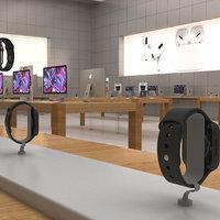 3D apple store model