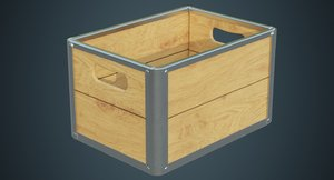 crate contains 3a 3D model