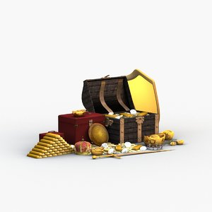 treasure chest model