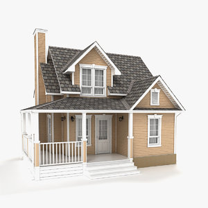 two-story cottage 88 3D model