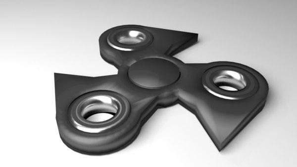 fidget spinner 2 3D