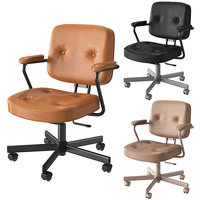 office chair ikea alefjll 3D