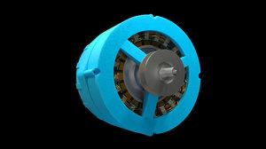 alternator 3D