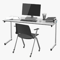 Office Desk of Staff