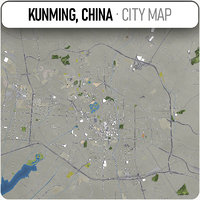 kunming surrounding - model