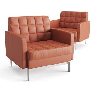 3D armchair chair coalesse