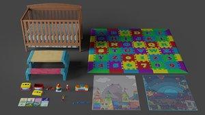 nursery props model