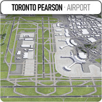 toronto pearson international airport- model