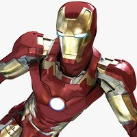 ironman mark armor 3d model