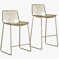 Bar Stool Alpha Brass
