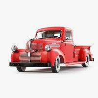3D 1947 dodge pickup