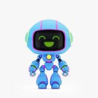 lovely robot xii 3D
