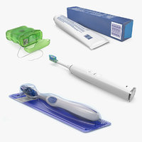 dental care colletion 3 3D