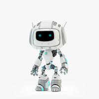 3D robot alien ii model