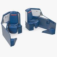 airbus a330-300 delta business 3D model