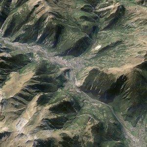 mountain matterhorn 3D model
