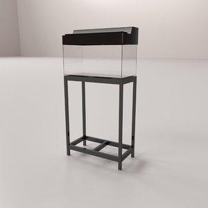 aquarium stand 3D model