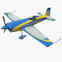 3D model extra ea300 aerobatic monoplane