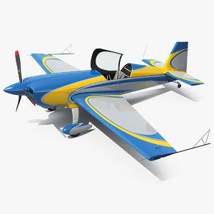 extra ea300 aerobatic monoplane 3D model