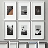 3D picture frames set -118 model