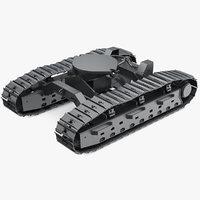 3D continuous track model