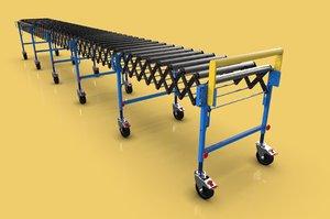 roller conveyor 3D model