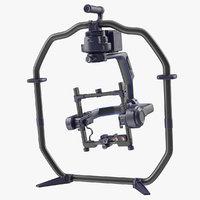 3D professional handheld camera stabilizer model