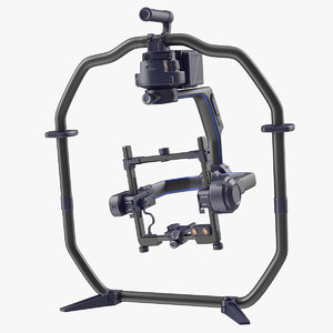 3D professional handheld camera stabilizer model