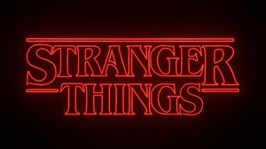3D model logo stranger things