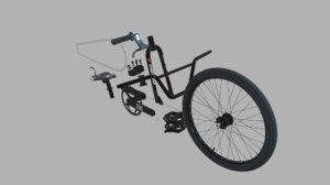 3D bmx-racing bike kit