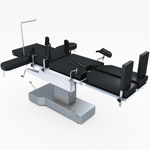 operating table 3D model