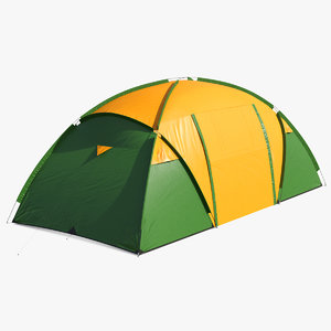 outdoor camping tent closed model