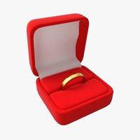 3D case ring model