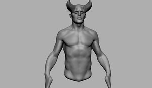creature body reference 3D