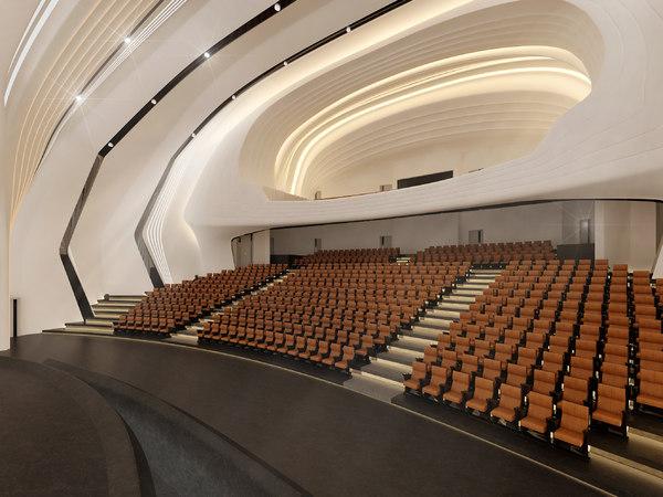 auditorium 3D model