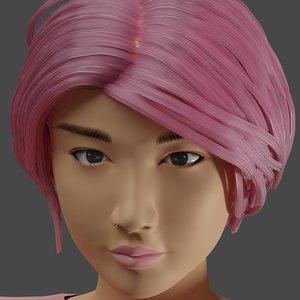 3D actress