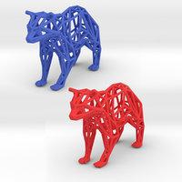 racoon animals 3D model