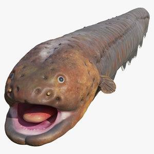 3D electric eel