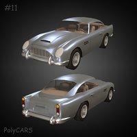 3D model polycar n11 popculture pack