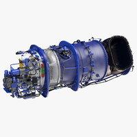 3D turboshaft engine