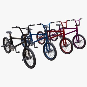 3D bike bmx bicycle model
