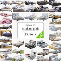 Modern Beds set 23 items