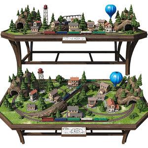 3D house building rails