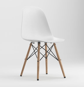 chair eames 3D model